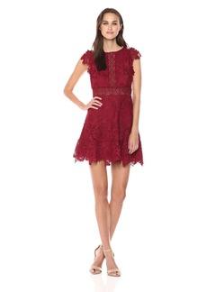 BB Dakota Women's Calvin Scalloped Lace Dress