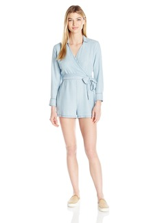 BB Dakota Women's Carisle Wrap Front Romper