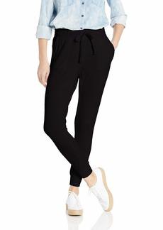 BB Dakota Women's Catch me Off Duty French Terry Sweatpant black large