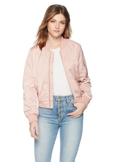 BB Dakota Women's Cayleigh Nylon Bomber Jacket
