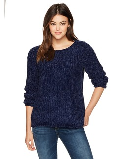 BB Dakota Women's Cella Velour Yarn Super Soft Sweater