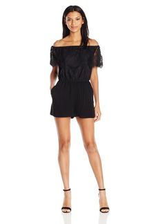 BB Dakota Women's Charisse Off The Shoulder Romper