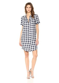 BB Dakota Women's Cicely Plaid Shirt Dress