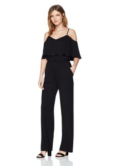 BB Dakota Women's Claudette Off The Shoulder Jumpsuit