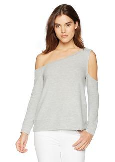 BB Dakota Women's Dannelle One Shoulder Knit Sweater