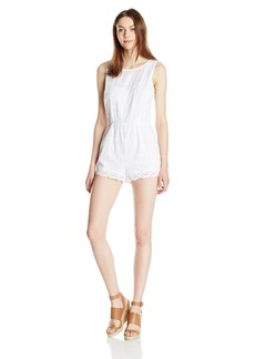 BB Dakota Women's DOTT Eyelet Romper