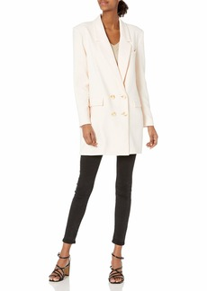 BB DAKOTA Women's Dressed to Thrill Blazer  M