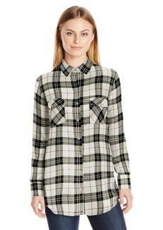 BB Dakota Women's Ebson Yarn Dyed Plaid Flannel Shirt