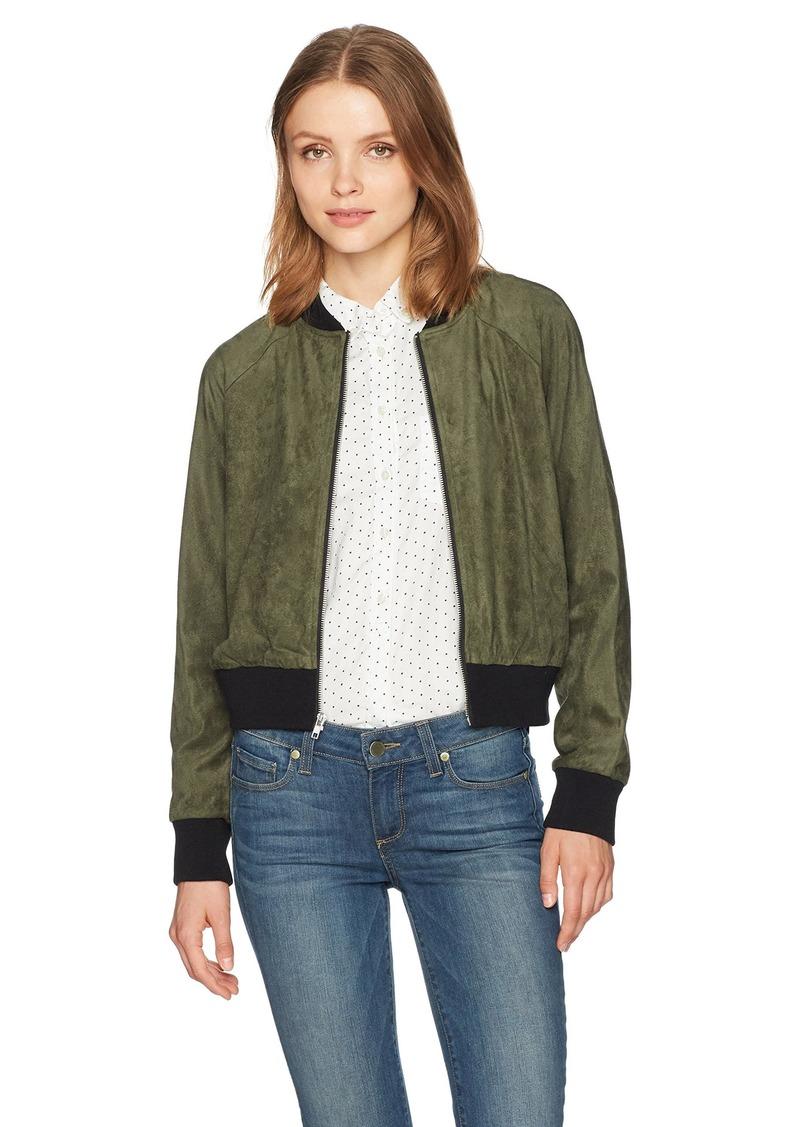 253877f75b4 BB Dakota BB Dakota Women's Ellie Faux Suede Bomber Jacket | Outerwear