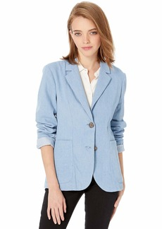 BB Dakota Women's Feel it in The rain  Boyfriend Blazer extra small