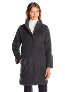 BB Dakota Women's Finn Fuzzy Wool Coat