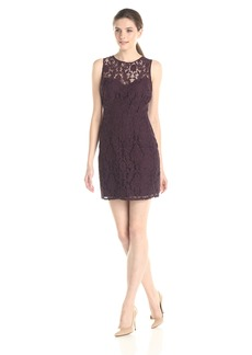 BB Dakota Women's Gabby Lace Dress BlackBerry