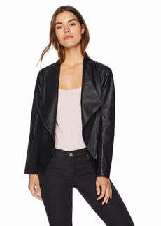 BB Dakota Women's Gabrielle Vegan Leather Jacket