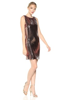 BB Dakota Women's Garland Sleeveless Sequin Dress