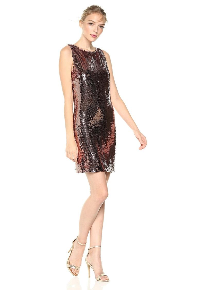BB Dakota Women's Garland Sleeveless Sequin Dress