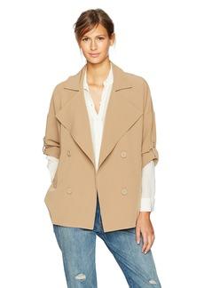 BB Dakota Women's Genette Drape Front Jacket