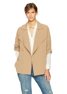 BB Dakota Women's Genette Drape Front Jacket