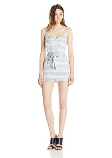 BB Dakota Women's Gianna Striped Romper