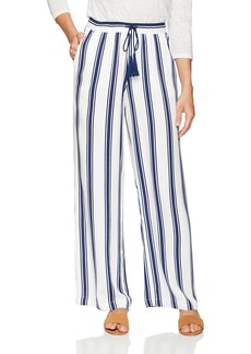 BB Dakota Women's Gove Tassel Detail Stripe Pant  Extra Small