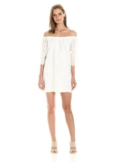 BB Dakota Women's Halden Off The Shoulder Lace Dress