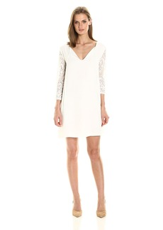 BB Dakota Women's Helene Lace Sleeved Dress