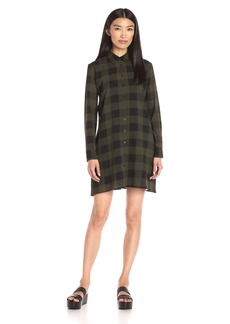 BB Dakota Women's Holly-Anne Buffalo Plaid Dress
