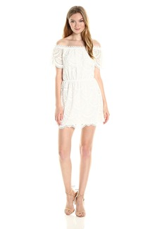 BB Dakota Women's Hope Lace Off The Shoulder Dress