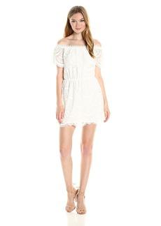 BB Dakota Women's Hope Lace Off The Shoulder Dress