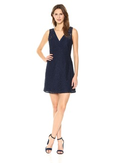 BB Dakota Women's Janelle V-Neck Lace Dress