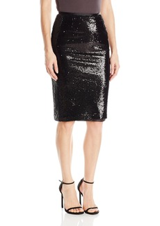 BB Dakota Women's Josie Sequin Pencil Skirt