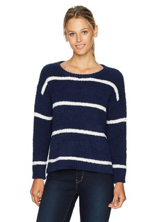 BB Dakota Women's Karin Soft Striped Pullover Sweater
