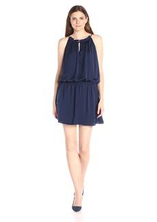 BB Dakota Women's Kelving Fit N Flare Dress