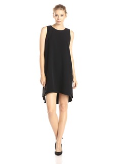 BB Dakota Women's Kenna Raw Edge High-Low Hem Dress