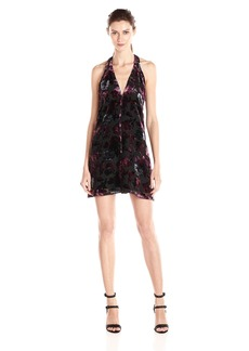 BB Dakota Women's Kenzie Printed Burnout Velvet Dress
