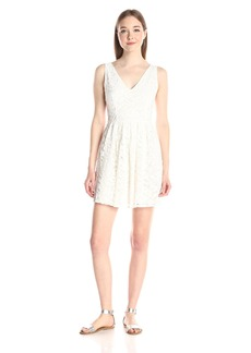 BB Dakota Women's Kerry Lace V-Neck Dress
