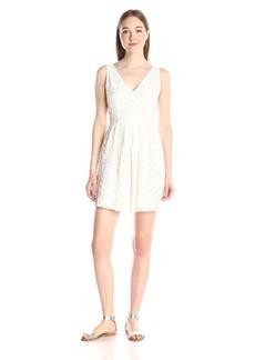 BB Dakota Women's Kerry Lace V-Neck Dress