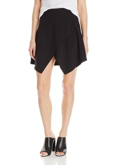 BB Dakota Women's Kionia Crepe Skirt