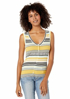 BB Dakota Women's knit's so You Multi Stripe top  large