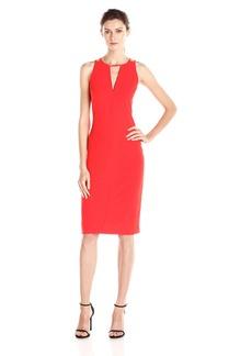 BB Dakota Women's Laine Heavy Crepe Strappy Dress