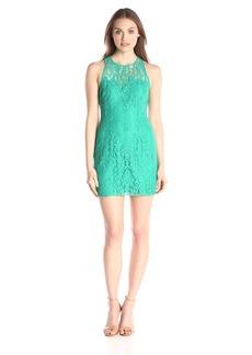 BB Dakota Women's Larelle Sleeveless Lace Dress