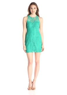 BB Dakota Women's Larelle Sleeveless Lace Dress