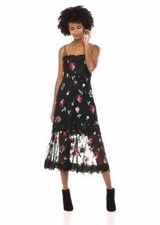 BB Dakota Women's Let's Dance Embroidered Dress