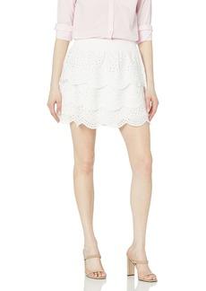 BB Dakota by Steve Madden Women's Lost in Your Eyelet Skirt  S