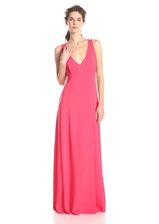 BB Dakota Women's Maevey Cut Out Back Maxi Dress
