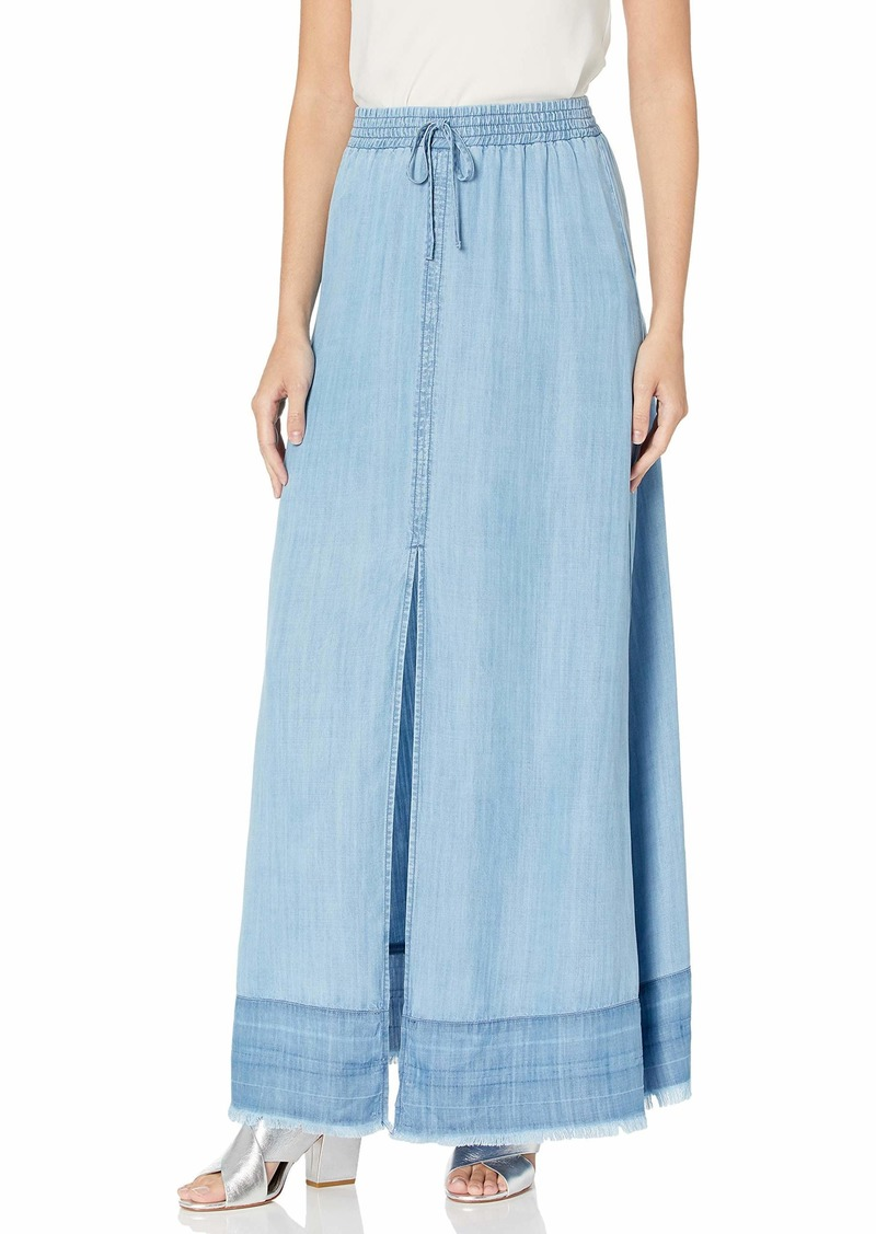 BB Dakota Women's max me Out Indigo Maxi Skirt