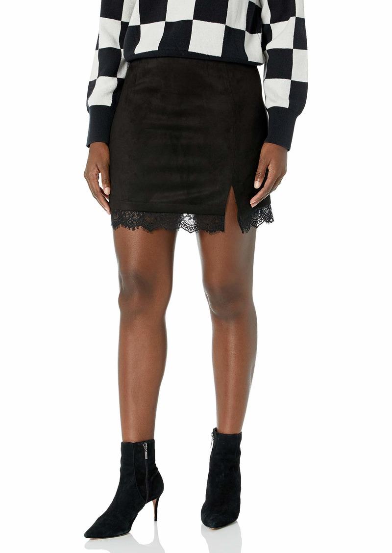 BB Dakota Women's Melrose Lace Skirt