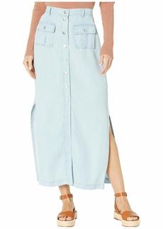 BB Dakota Women's Midi Skirt