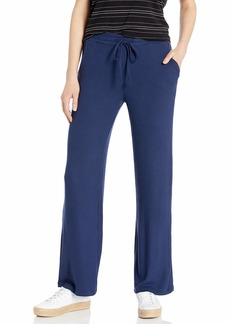 BB Dakota Women's Morning Mood Brushed Rib Wide Leg Pant
