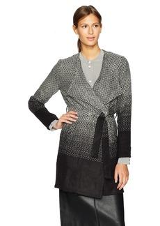 BB Dakota Women's Myles Ombre Belted Coat