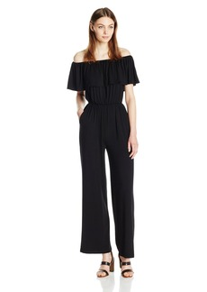 BB Dakota Women's NIKO Off The Shoulder Jumpsuit